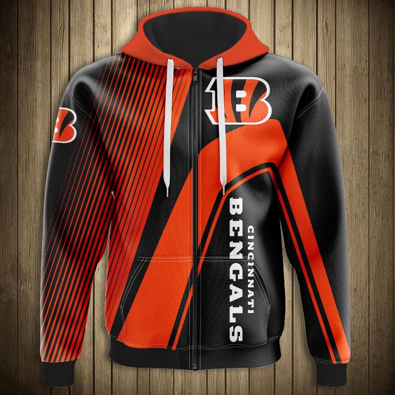 Cincinnati Bengals Zip hoodie