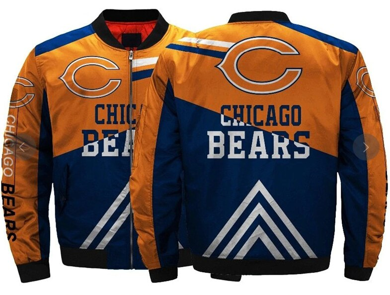 Chicago Bears bomber jacket