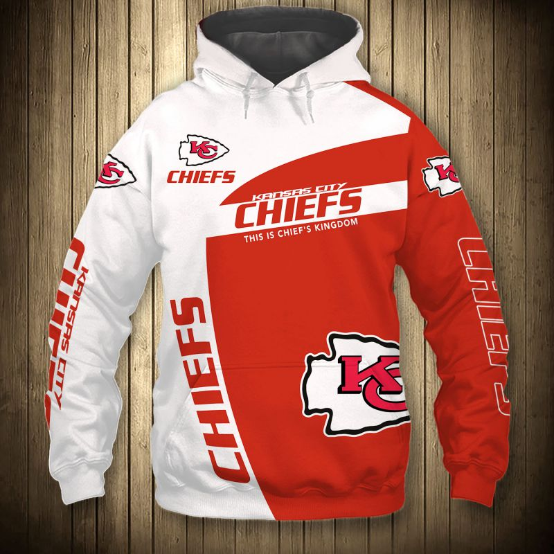 Kansas City Chiefs Football Hoodie Mens Hoodies Jacket Coat Pullover Sweatshirt