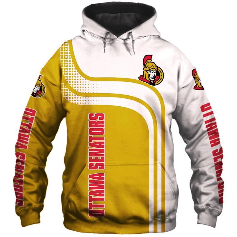 NHL Ottawa Senators 3D Hoodie V2