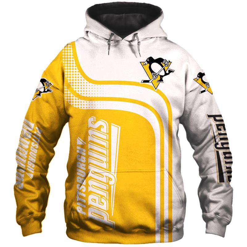 NHL Pittsburgh Penguins 3D Hoodie V2