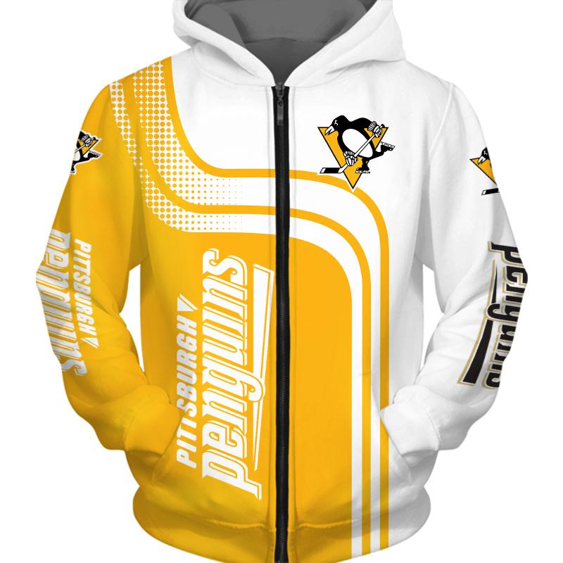 Pittsburgh Penguins Zipper Hoodie