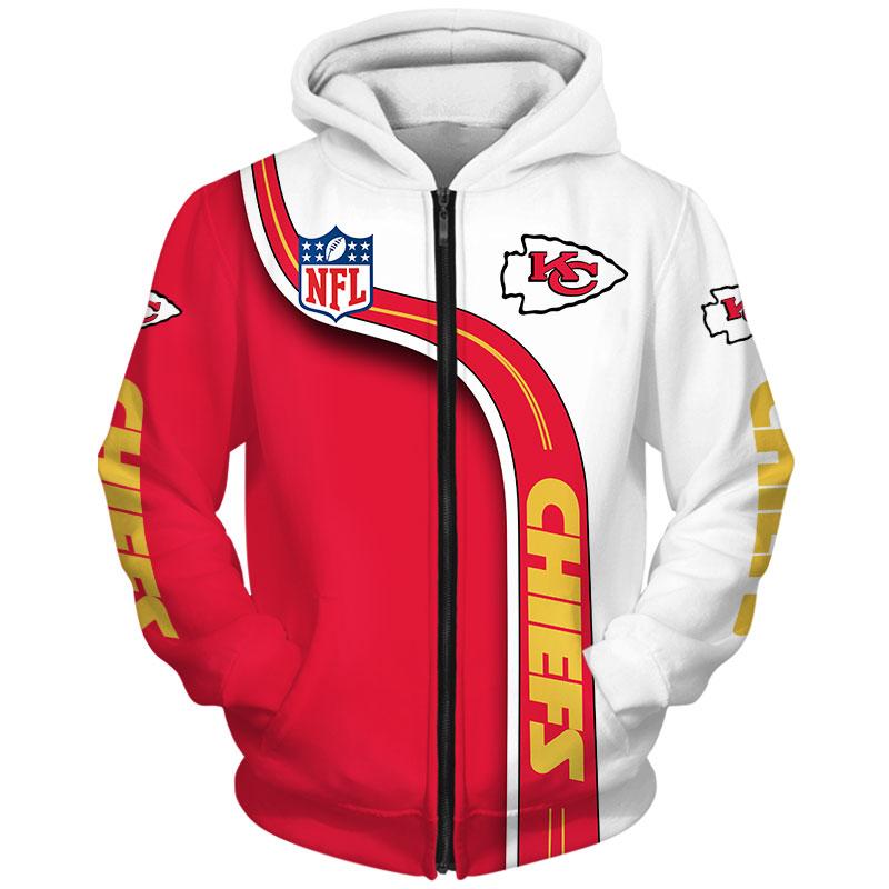 Kansas City Chiefs Zip Hoodie