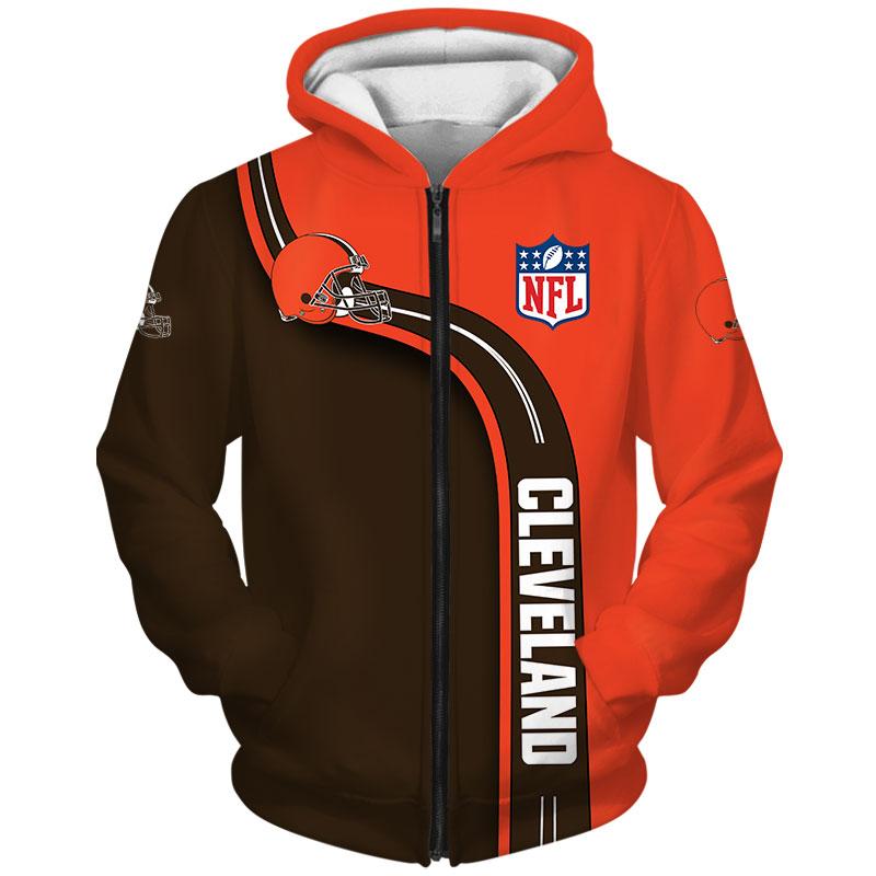Cleveland Browns Zip Hoodie
