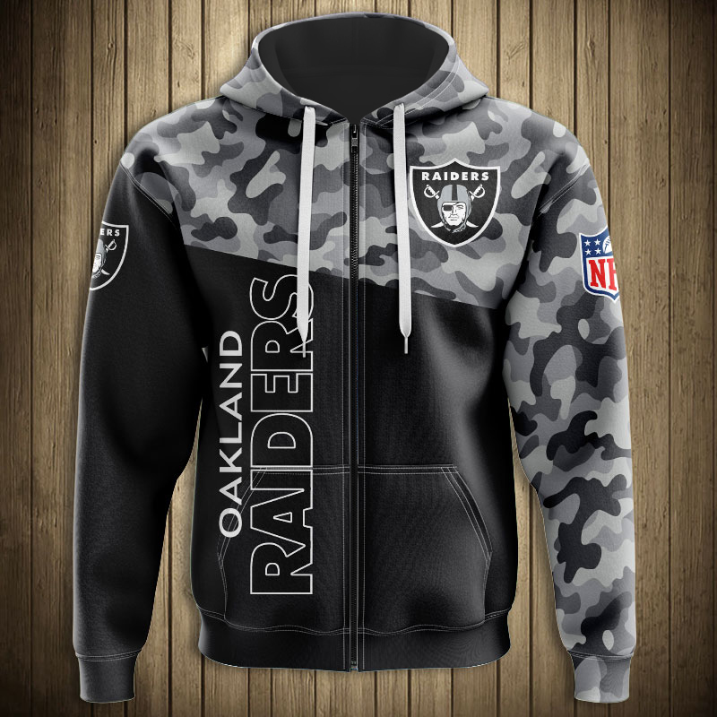 raiders military sweatshirt