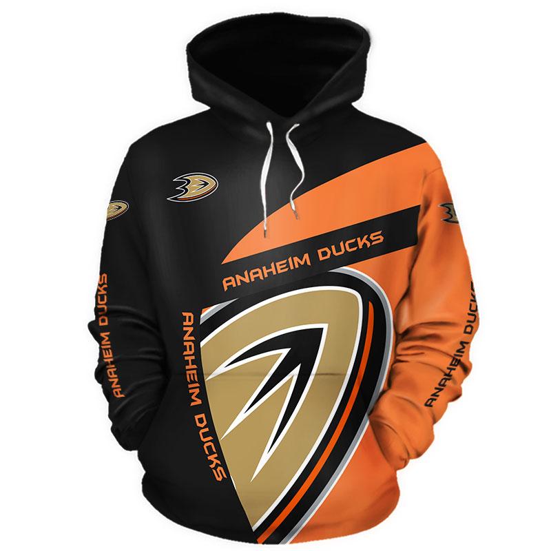 NHL Anaheim Ducks 3D Hoodie V1