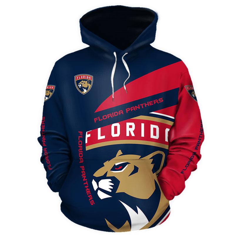 NHL Florida Panthers 3D Hoodie V1