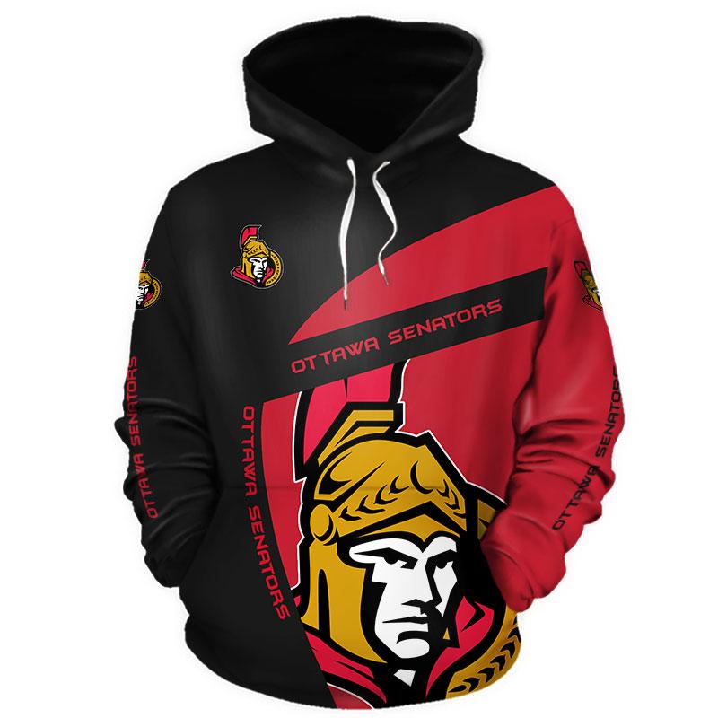 NHL Ottawa Senators 3D Hoodie V1