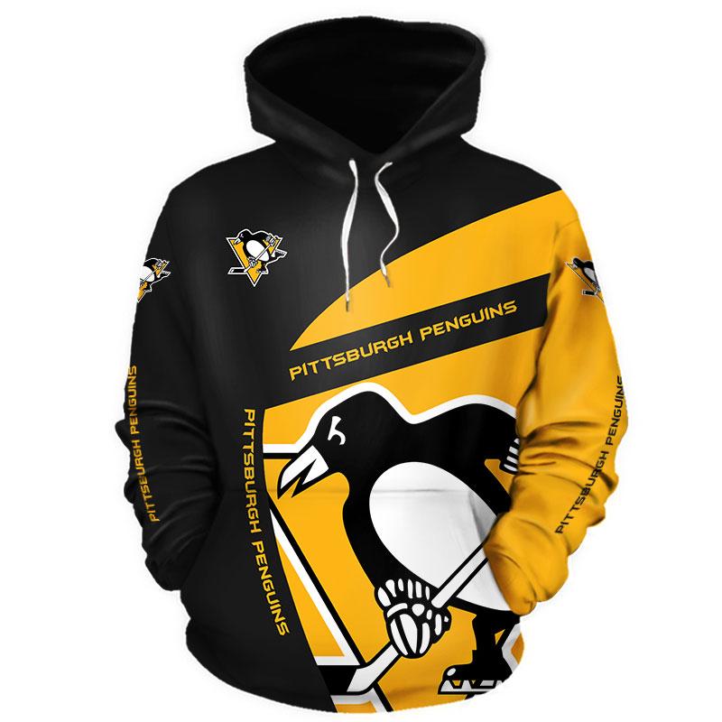 NHL Pittsburgh Penguins 3D Hoodie V1