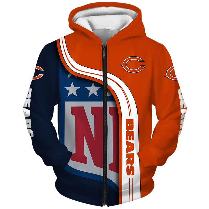 Chicago Bears Zip-Hoodie