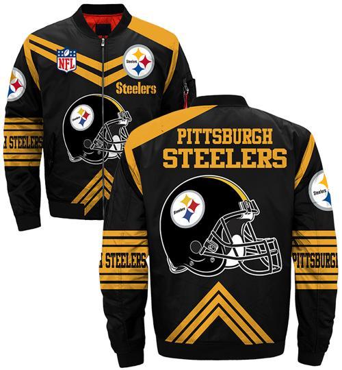 Pittsburgh Steelers bomber jacket