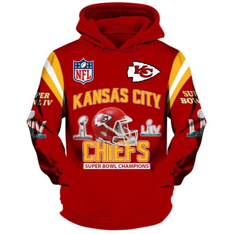 Kansas City Chiefs hoodies