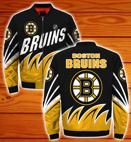 Boston Bruins bomber jacket