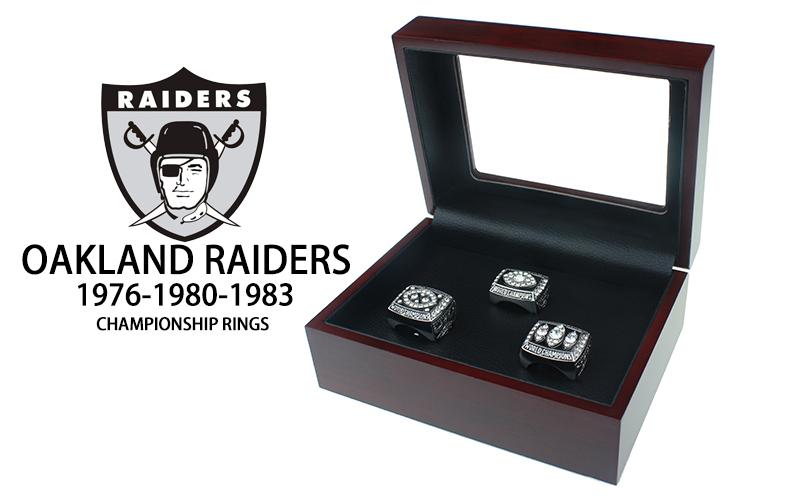 Oakland Raiders Super Bowl Rings