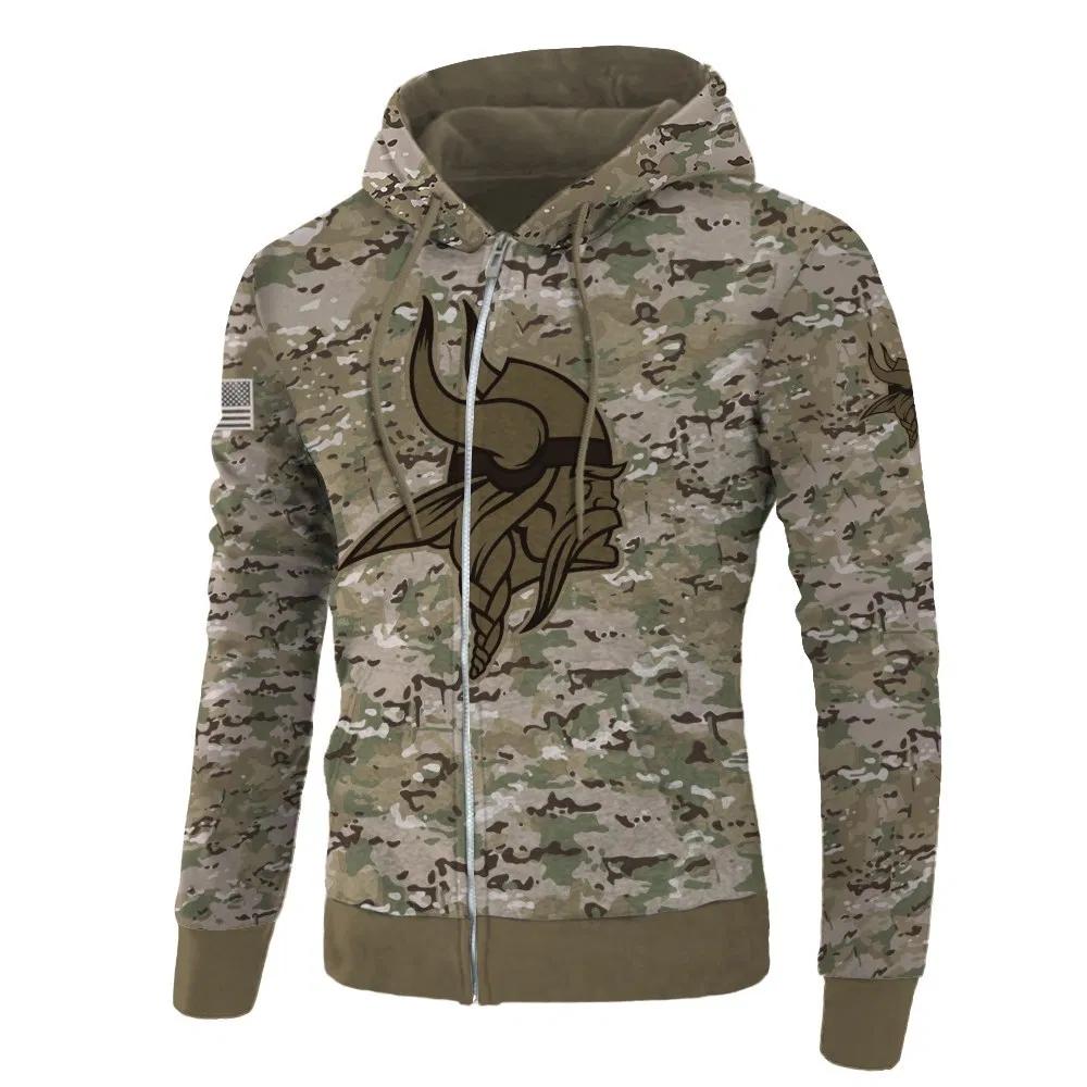 minnesota vikings grey sweatshirt
