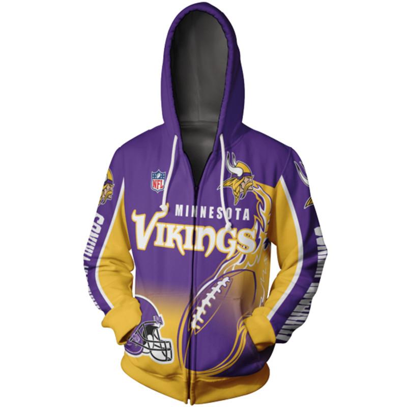 Minnesota Vikings hoodies