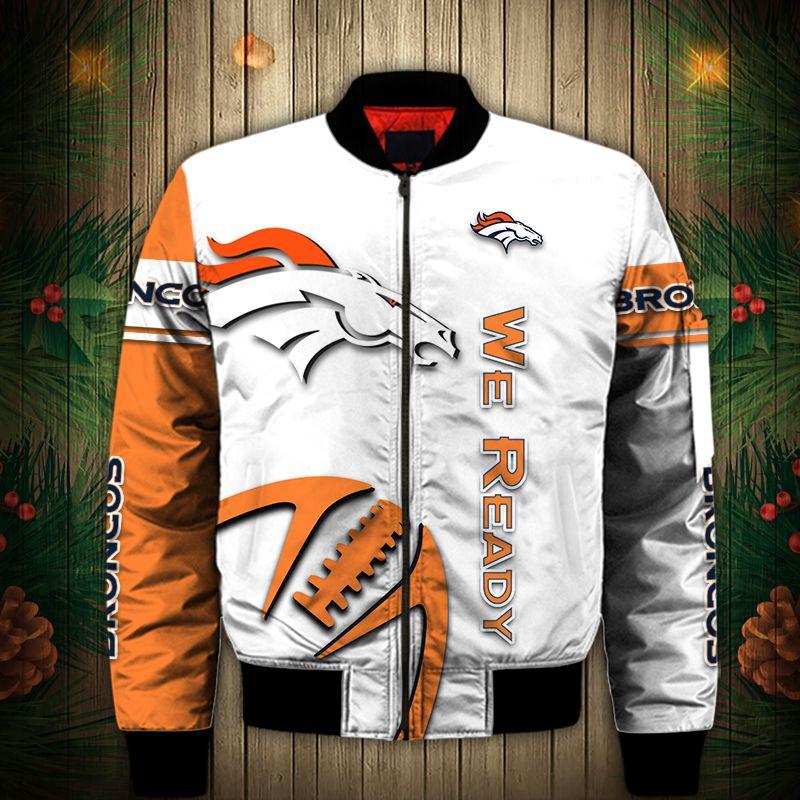 Denver Broncos Bomber Jacket