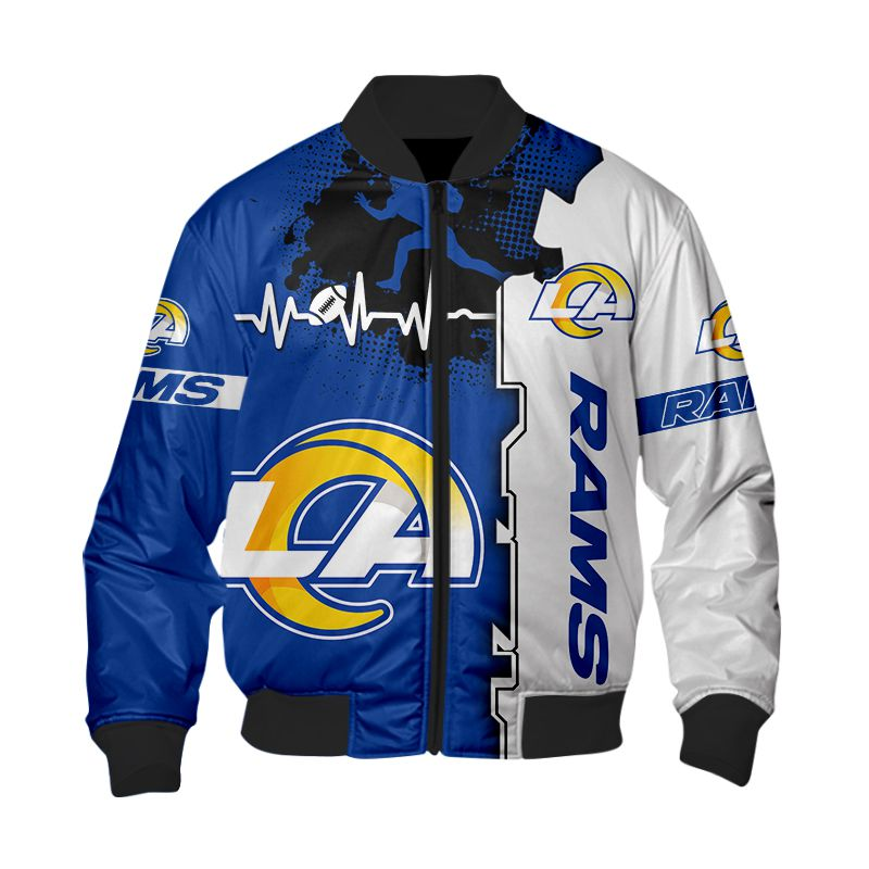 Los Angeles Rams Bomber Jacket