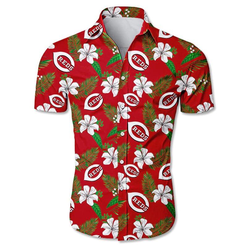Cincinnati Reds Hawaiian Shirt