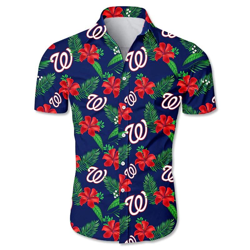 Washington Nationals Hawaiian Shirt